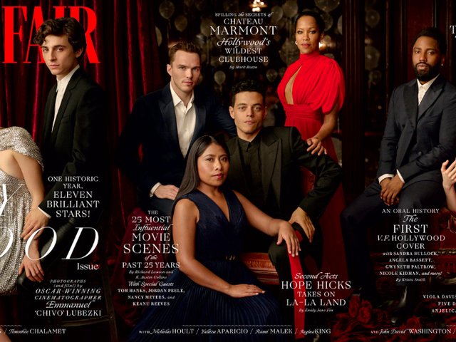 <i>Vanity Fair</i>'s Hollywood Issue Cover Features Majority People of Color For the First Time