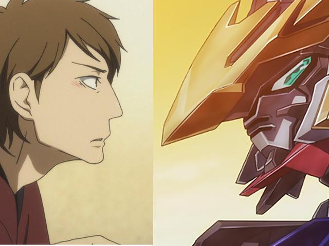 Aqui é um Rakugo Gundam!