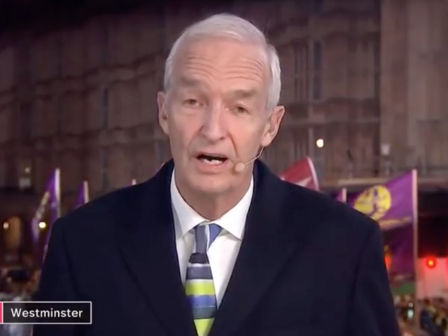 Brexit Reporter Declares He's 'Never Seen So Many White People in One Place.' The Lie Detector Determined ... That's a Lie