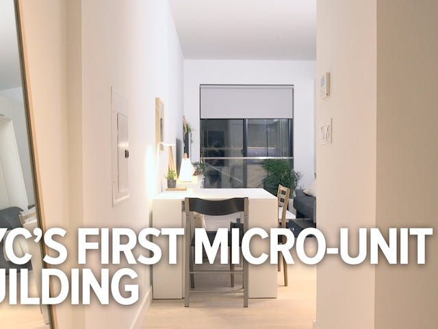 Can These Micro-Units Fix New York City's Housing Problems?