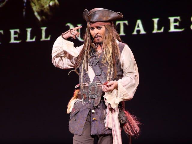 Johnny Depp'in çürüyen ruhu nihayet Korsanlar'ın yeniden fırlatılmasından alındı.