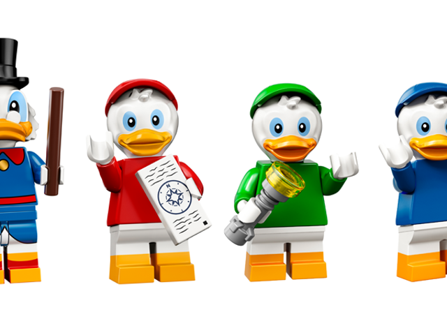 The Next Wave of Collectable Lego Minifigures Is Disney Themed, and It's Ducking Brilliant