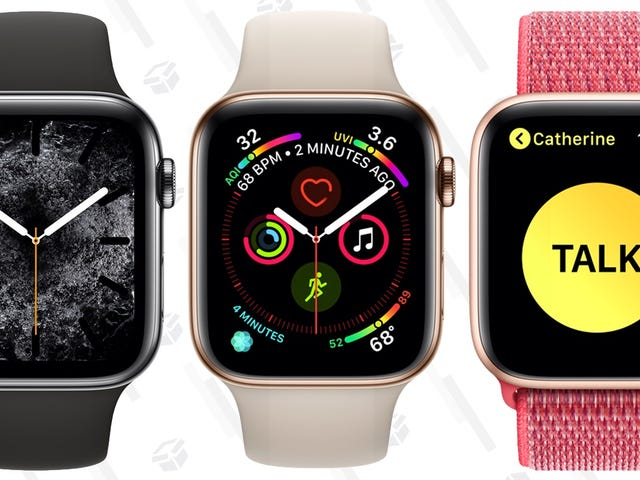 Amazon's Taking Up to $70 Off the Apple Watch Series 4