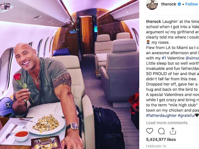 Saya Seorang Cendekia dan Bidang Keahlian Saya Adalah Akun Instagram Dwayne 'The Rock' Johnson