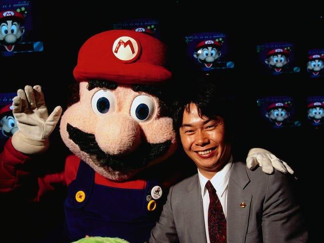 Mario được cho là dễ thương, đó là lý do tại sao núm vú của anh thu hút mọi người