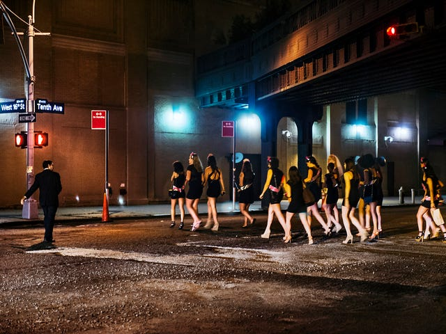 'A Carnival of Desire': Dina Litovsky's Gorgeous, Strange Photos of the Meatpacking District