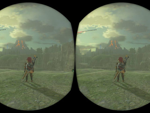 Mario And Zelda's New VR Modes Are Not Good