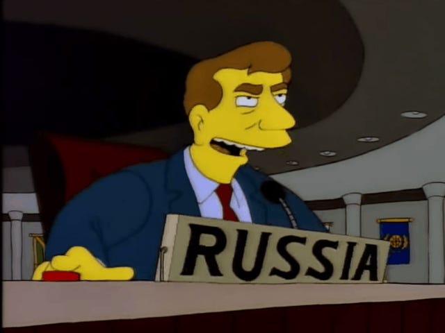 우크라이나는 2017 년이 지옥으로 이상하기 때문에 러시아에서 <i>Simpsons</i> GIF를 방금 트윗했다.