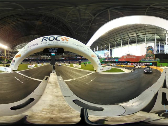 Watch Race Of Champions Coverage Live In 360-Degree Video