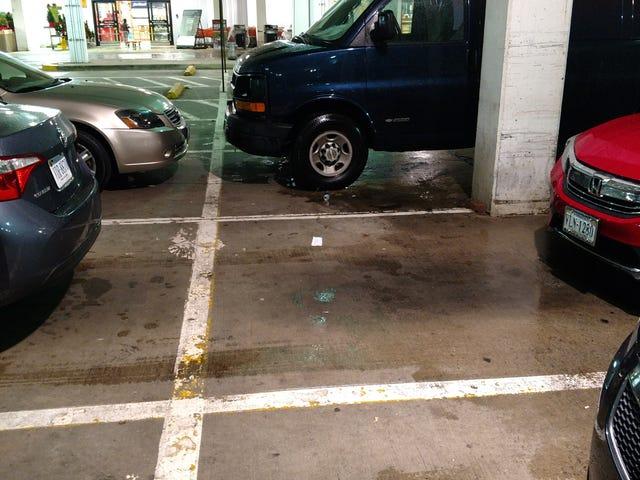 Awful parking