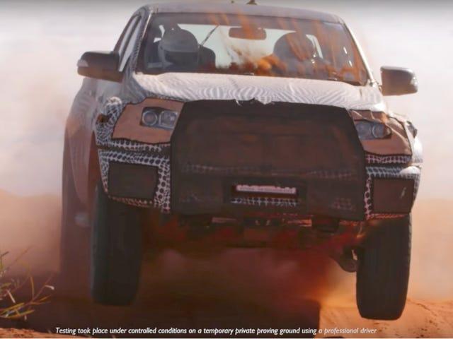 Ford bekräftar 2018 Ranger Raptor;  Chevy fans överallt skickade hem gråt som små barn;  Din lastbil har bokstavligen ingen anledning ...