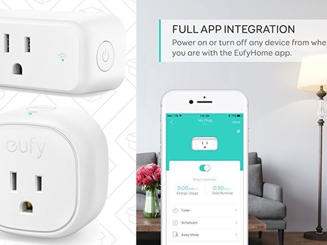 Save 15% On Anker's Already-Affordable Smart Plugs