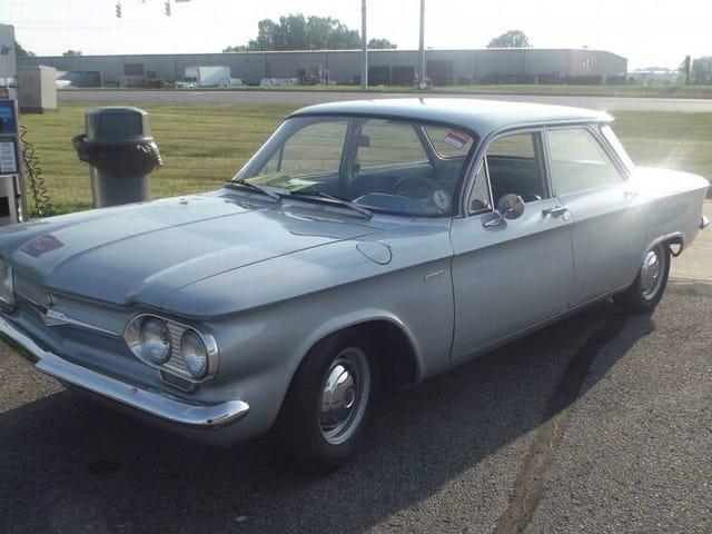 Por $ 7,000, ¿Tiene este 1961 Chevy Corvair 500 una oportunidad de luchar?