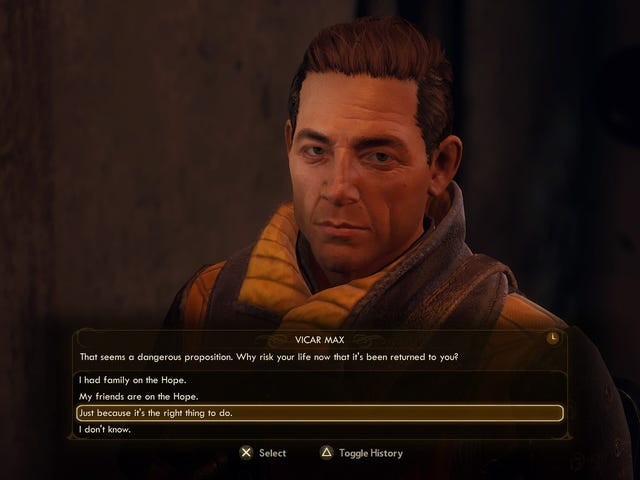 Give Vicar Max A Chance In The Outer Worlds, Guys