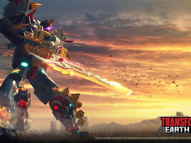 Transformers' Dinobots Finally Combine To Form A Giant Robot