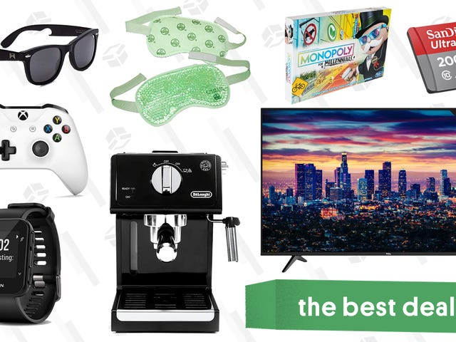 Thursday's Best Deals: TCL 6 Series TVs, Express, GPS Running Watch, and More