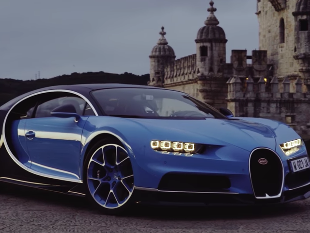 Watch The World's First Video Review Of The Bugatti Chiron