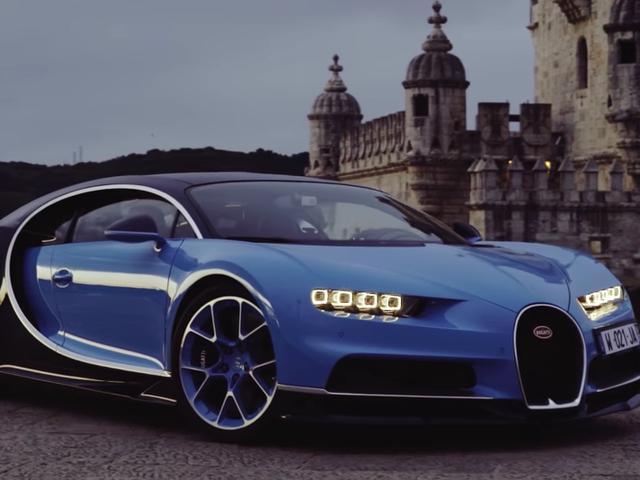 Titta på världens första video granskning av Bugatti Chiron