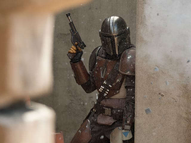 It's the launch of Disney+, so here comes The Mandalorian
