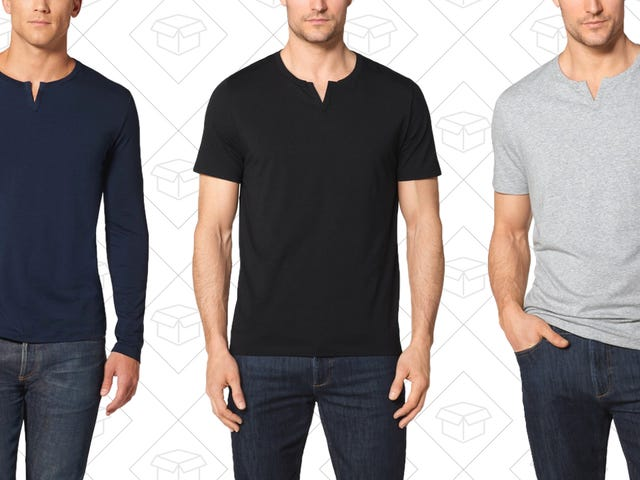 Diversify Your Basics With Tommy John's Moroccan Tees