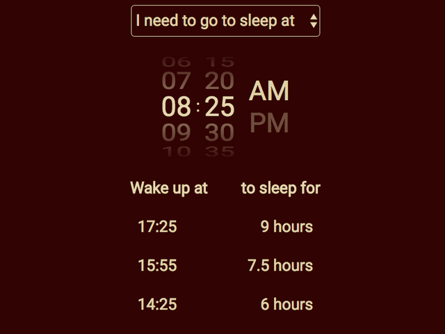 Sleeptime Calculates Your Bed Time Based on Your Sleep Cycle