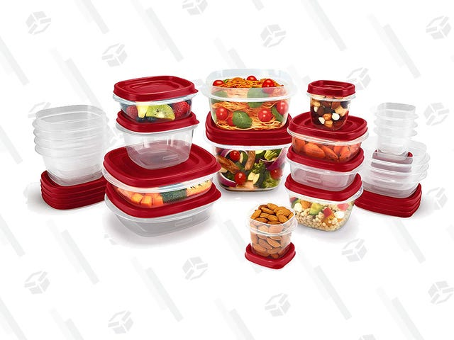 Store All Your Leftovers In Some Rubbermaid Food Containers