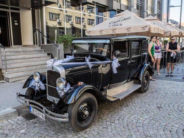 Despejo de foto de carros Euro