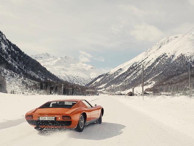 Yes Definitely Thrash A Lamborghini Miura Around In The Snow