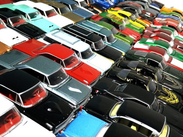 小汽车的大规模集会