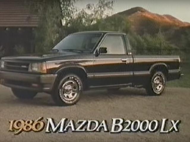 Ζήστε την αγωνιστικότητα με το Mazda B2000 LX του 1986