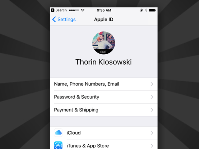 Apple Quietly Made the Account Settings Page on Your iPhone a Tiny Bit More Useful