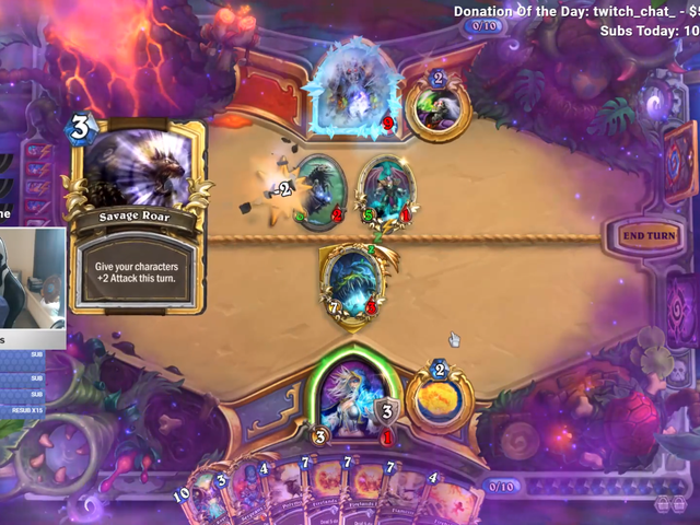 Hearthstone Pro Leaves It All Up To One Card