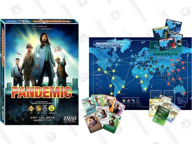 Dodaj pandemię do swojej kolekcji gier planszowych za 25 USD, a także bonusową kartę podarunkową 10 USD
