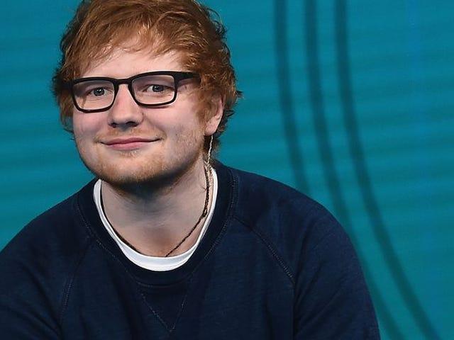 """Ed Sheeran nie chce żadnych procesów, przyznaje autorom """"No Scrubs"""" nową piosenkę"""