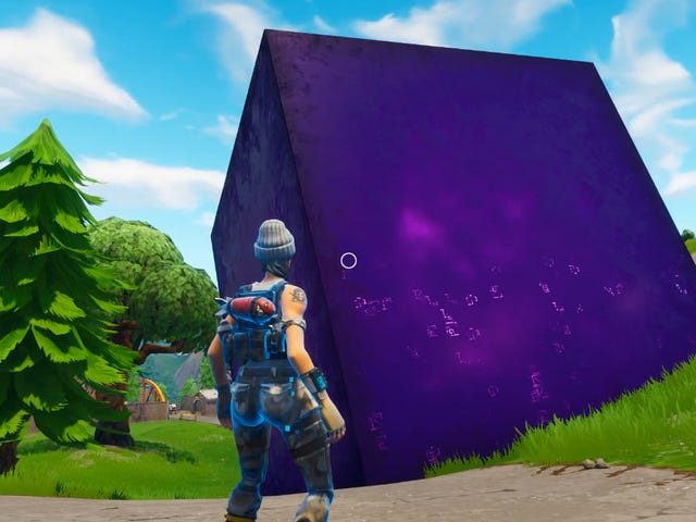 Fortnite Players Want To Know Where The Cube Is Headed