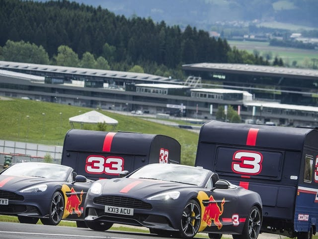Verstappen + Ricciardo + Campers = #rekt