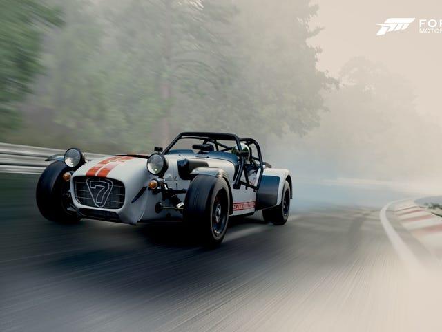 Kereta Projek 2 vs Forza Motorsport 7, GO!
