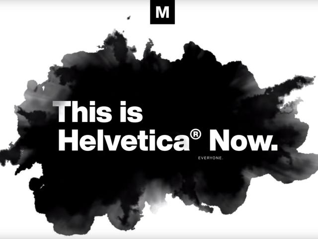 La mítica tipografía Helvética moderniza su diseño por primera vez desde 1989