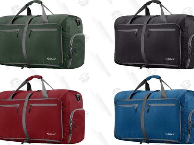 Get Yourself a Big-Ass Duffel Bag For $17, In the Color of Your Choice
