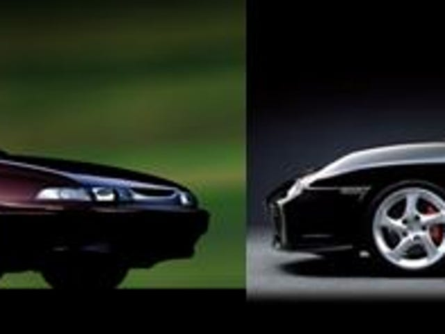 Duelo de autos usados - Subaru SVX vs. 996 Carrera 4