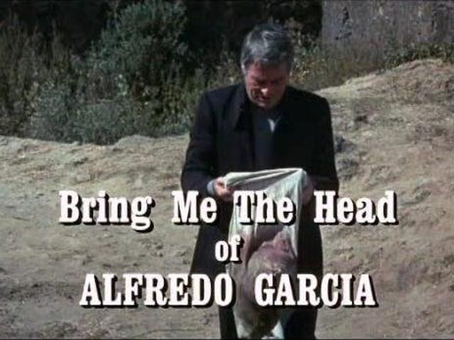 Ta mig chefen för Alfredo Garcia (1974)