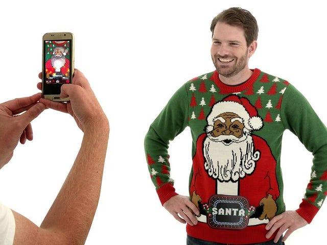 Augmented Reality Santa Jumper