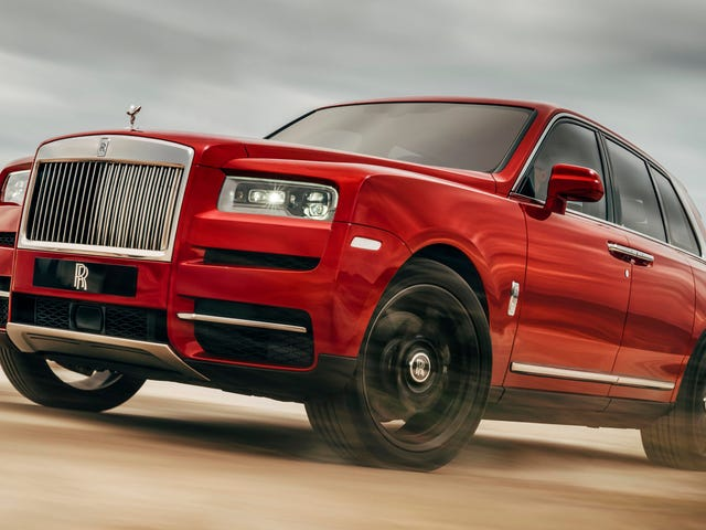The 2019 Rolls-Royce Cullinan Is A Twin-Turbo V12 SUV Behemoth