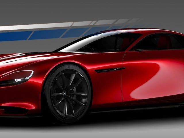Mazda dice que aún está funcionando en un motor rotativo, ya que planea subir de categoría