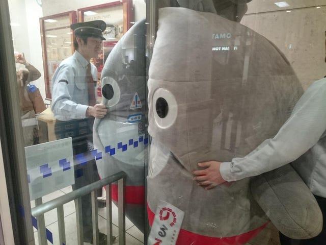 When Japanese Mascots Get Stuck