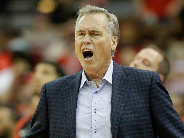 Árbitro Meltdown em Celtics-Rockets Surpreendentemente não tem nada a ver com o trabalho de James Harden
