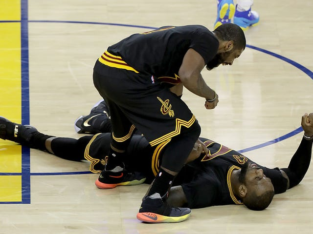 LeBron James Wants to Beat Kyrie Irving's Ass: Report