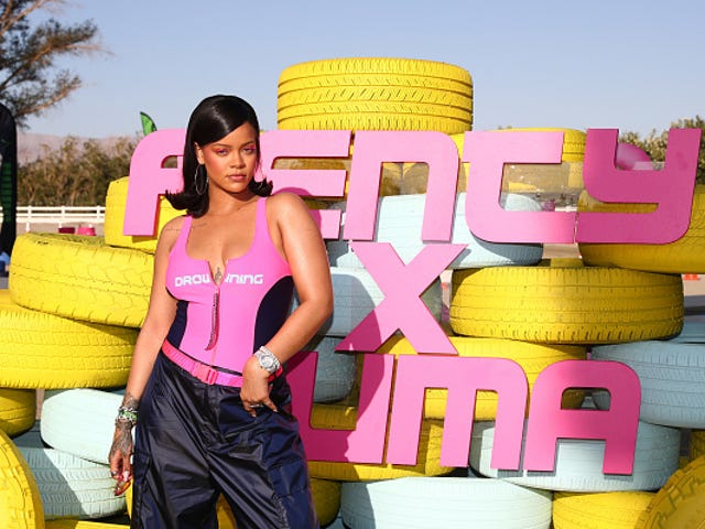 Rihanna's Fenty x Puma Beach and Motorsport-Inspired Collection Is Available Now