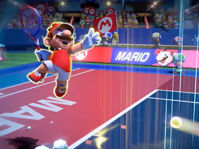 El nuevo <i>Mario Tennis Aces</i> llegará a la Nintendo Switch en junio