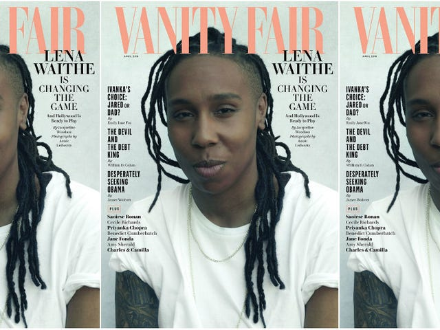 The Breakthrough: Vanity Fair Breathes New Life with Lena Waithe on the Cover